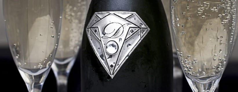 Bouteille gout de diamant luxe