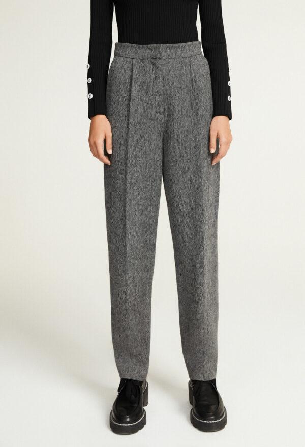 Pantalon tailleur gris Claudie Pierlot