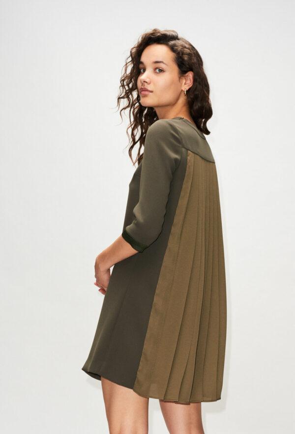 Robe avec dos plissé Claudie Pierlot