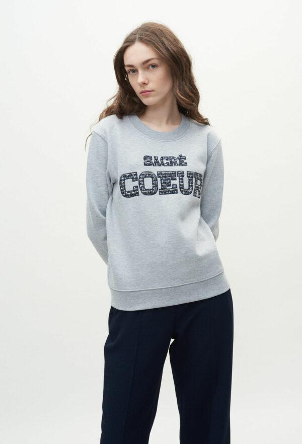 "Sweatshirt ""Sacré-Cœur"" Claudie Pierlot"