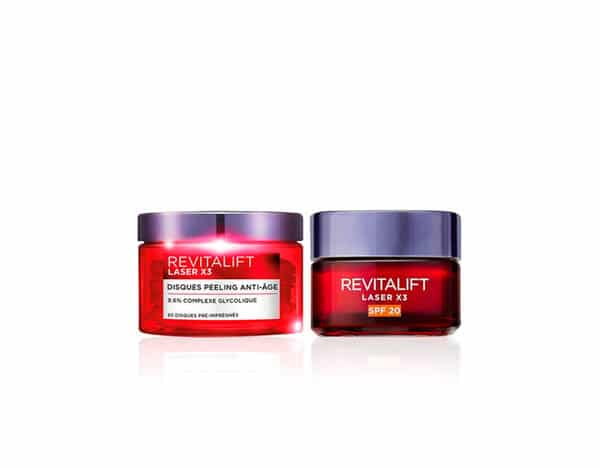 Rituel peeling Revitalift Laser X3 L'Oréal Paris