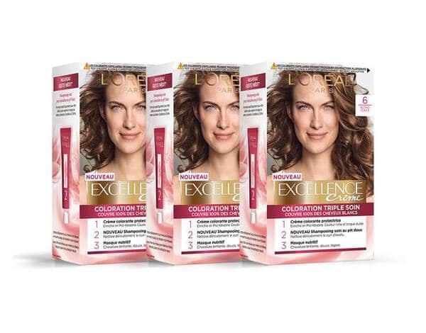 Lot de 3 – Excellence Blonde Foncé L'Oréal Paris