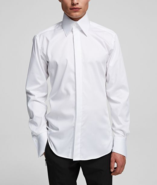 Chemise à col requin Karl Lagerfeld