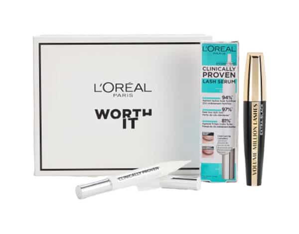 Coffret Regard Clinically Proven Lash Serum et Volume Million de Cils Extra Black L'Oréal Paris