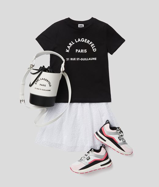 T-shirt à logo Karl Lagerfeld