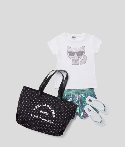 T-shirt K/Ikonik Choupette Karl Lagerfeld