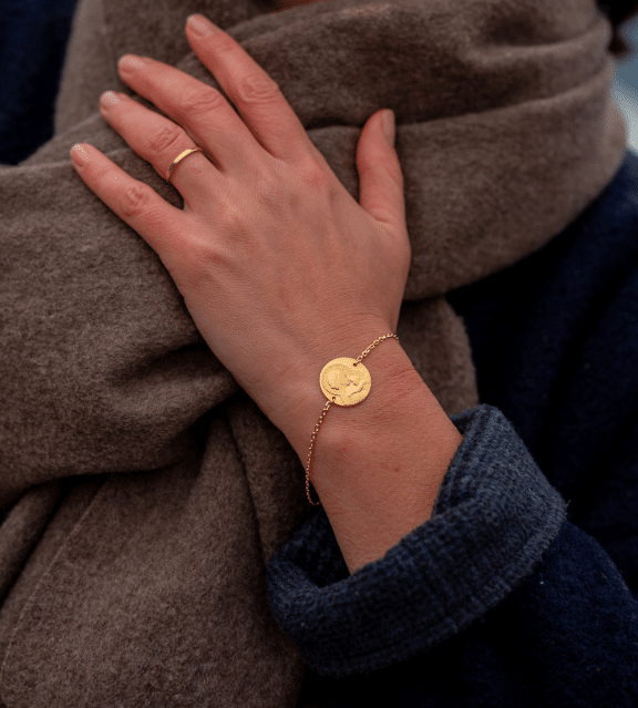 maison laudate bijoux luxe medaille religion catholique or