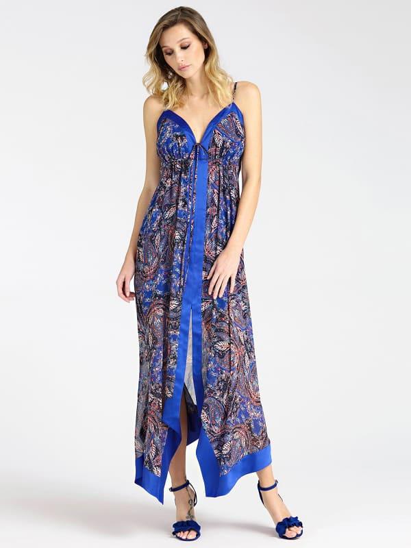 Robe Longue Imprimé Paisley Marciano – Guess