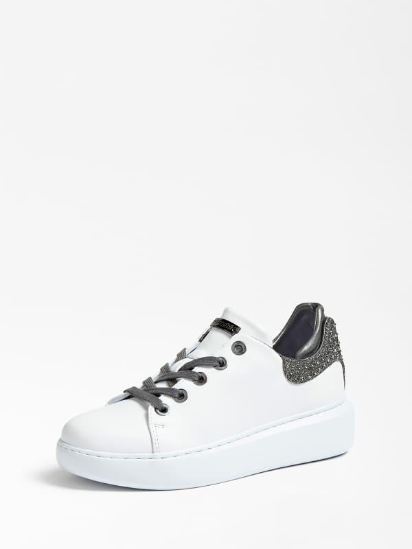 Sneaker Braylin Cuir Veritable – Guess