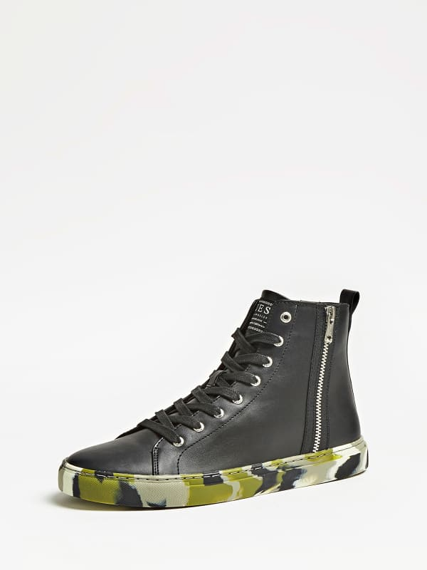 Sneaker Montante Luiss Mid Lacets – Guess