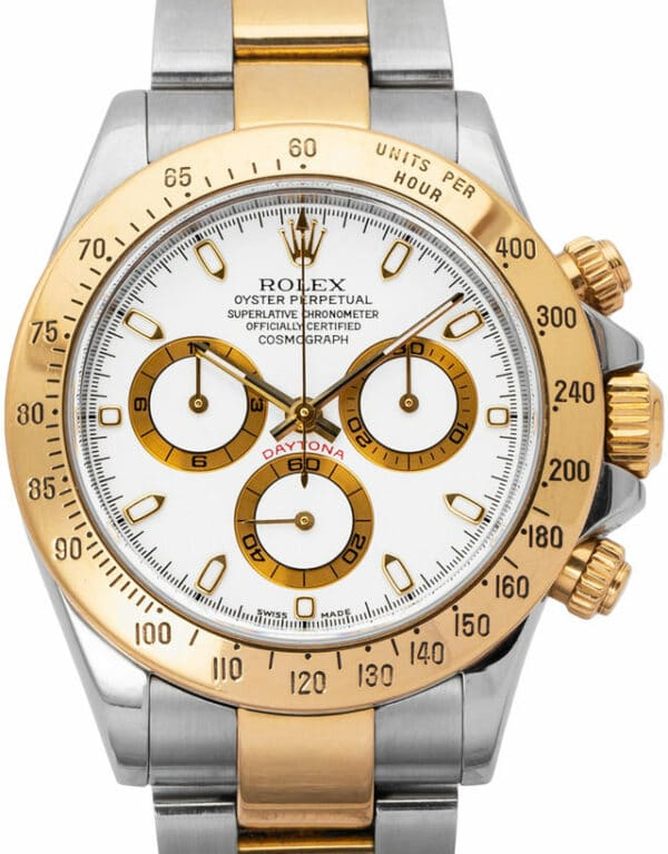 Montre Rolex Daytona 116523, Baton, 2004, Good, Matériau du boîtier Acier, Matériel du bracelet: Acier