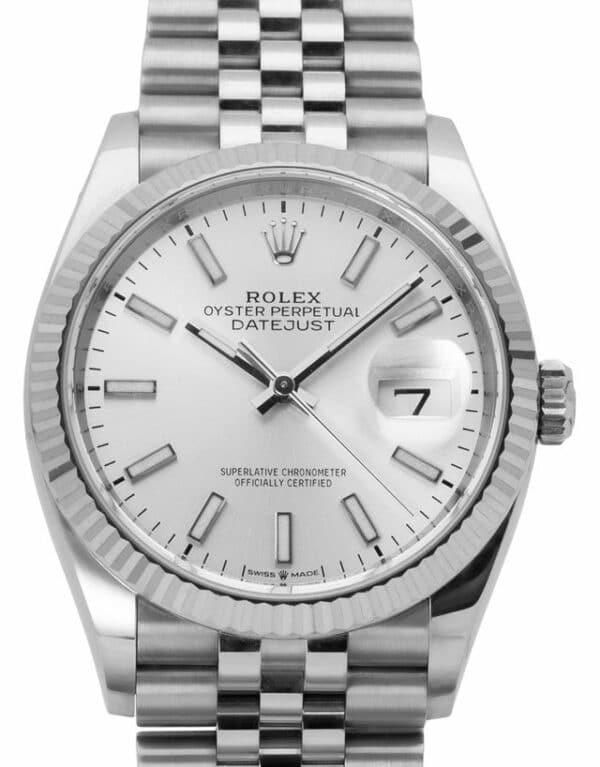 Montre Rolex Datejust 126234, Baton, 2020, Very Good, Matériau du boîtier Acier, Matériel du bracelet: Acier