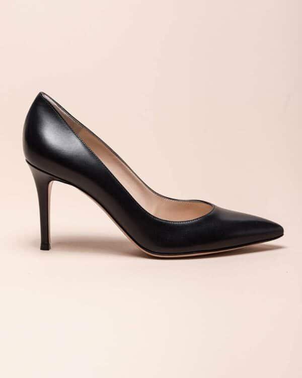 Gianvito Rossi – Escarpins en cuir 85 40 noir