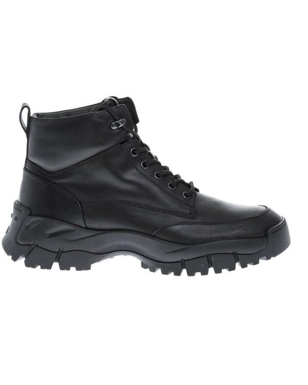 Tod's – Mountain – Boots en cuir renforcées et molletonnées 9 noir