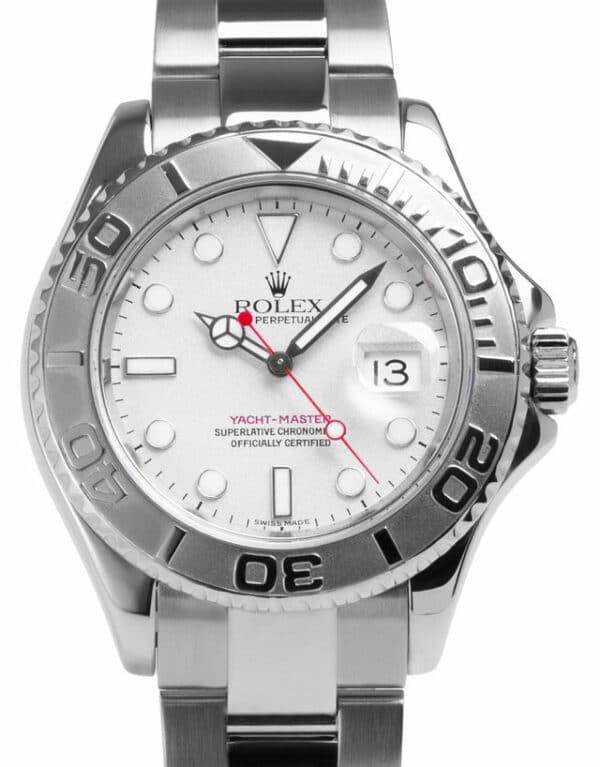 Montre Rolex Yacht-Master 16622, Baton, 2002, Very Good, Matériau du boîtier Acier, Matériel du bracelet: Acier