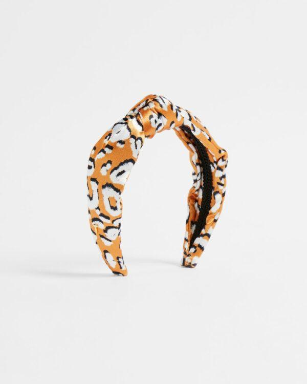 Leopard Detail Headband Ted Baker