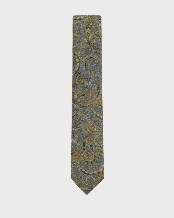 Paisley Woven Tie Ted Baker
