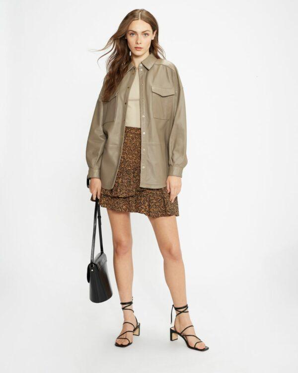 Tiered Ruffle Mini Skirt Ted Baker
