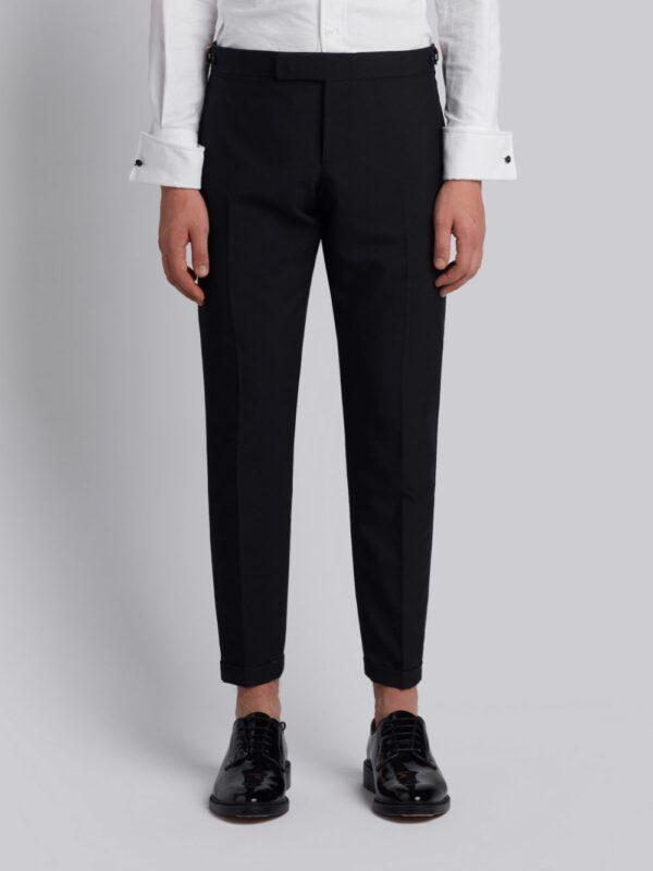 Thom Browne pantalon fuselé crop