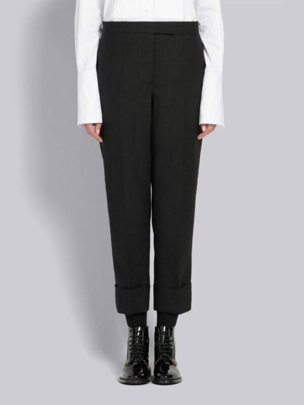 Thom Browne pantalon de costume à bandes latérales