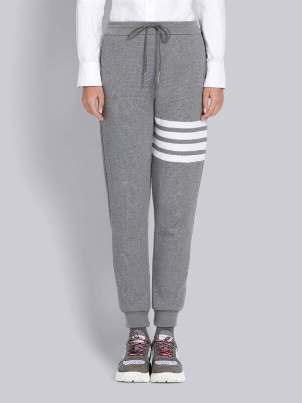 Thom Browne pantalon de jogging texturé