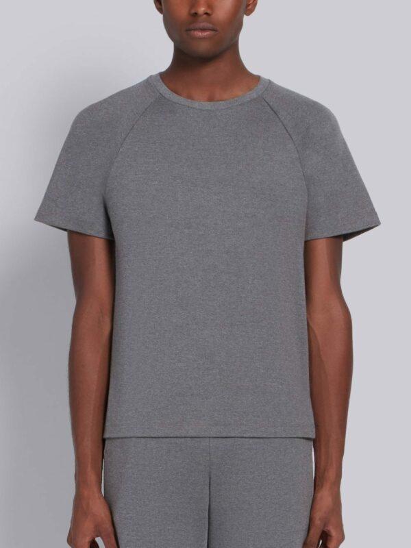 Thom Browne t-shirt à bande rayée