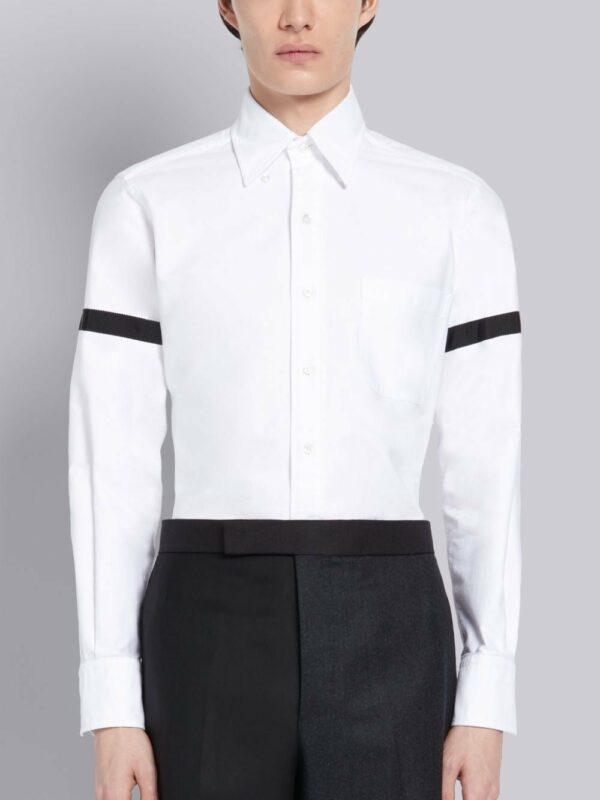 Thom Browne chemise à détail de ruban