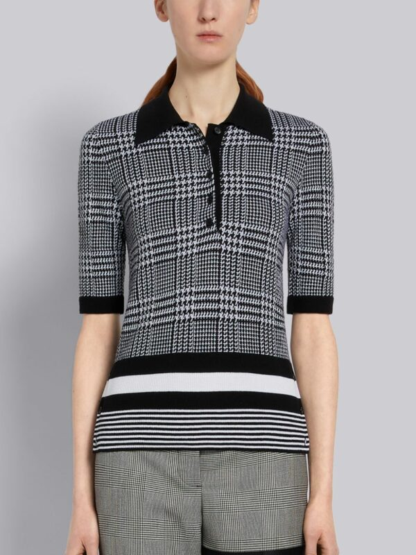 Thom Browne polo en maille fine