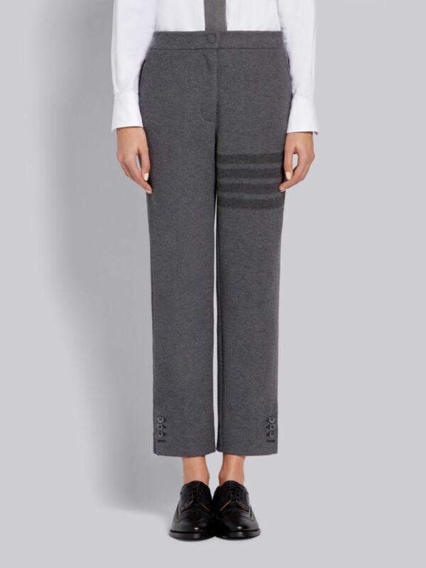 Thom Browne pantalon à détail 4-Bar