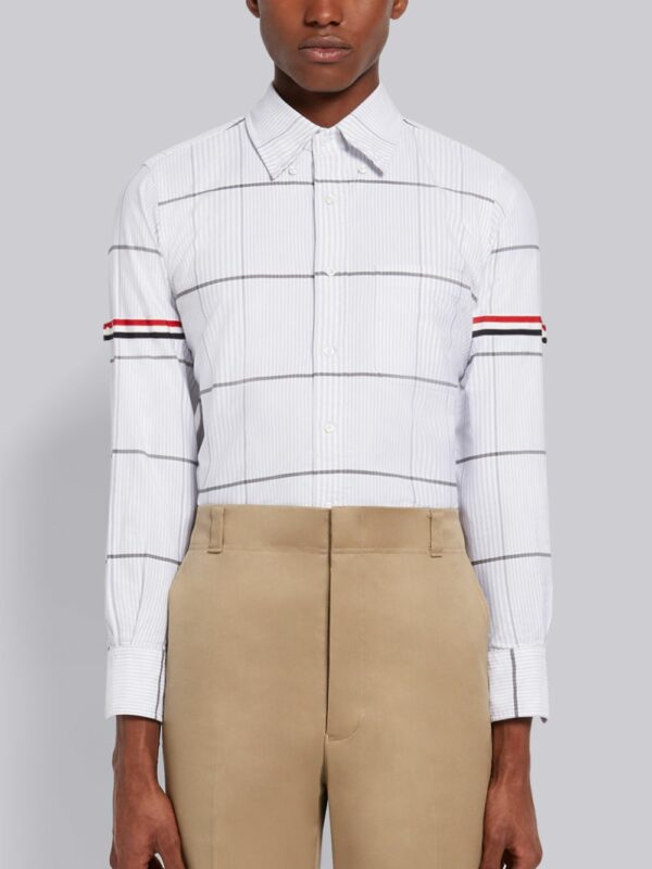 Thom Browne chemise oversize à carreaux