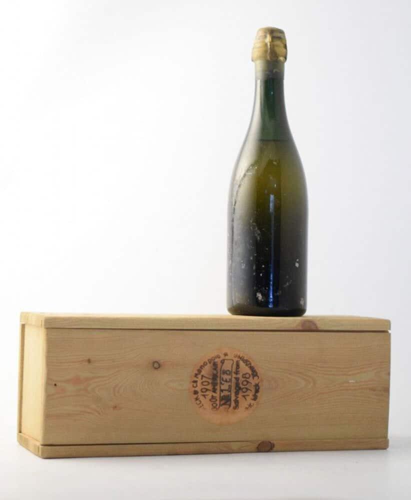 naufrage suede 1907 heidsieck monopole vin très cher