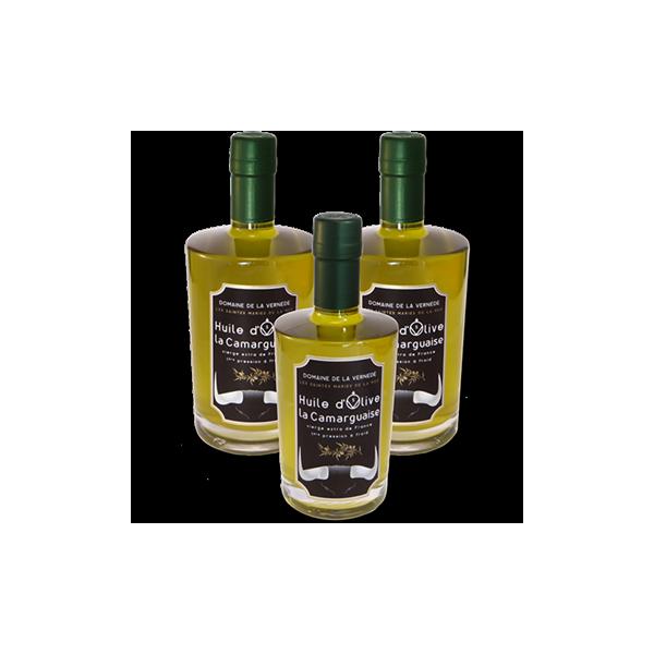Huile d'olives Pack 3 bouteilles 500ml Cuvée Grande Réserve