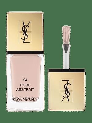 La Laque Couture – Vernis à Ongles – N 24 Rose Abstrait – Yves Saint Laurent