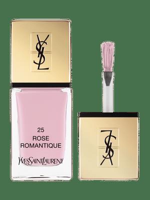 La Laque Couture – Vernis à Ongles – N 25 Rose Romantique – Yves Saint Laurent