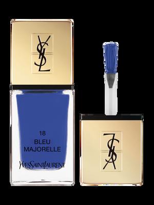La Laque Couture – Vernis à Ongles – N 18 Bleu Majorelle – Yves Saint Laurent