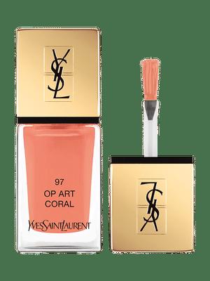 La Laque Couture – Vernis à Ongles – 97 Op Art Coral – Yves Saint Laurent