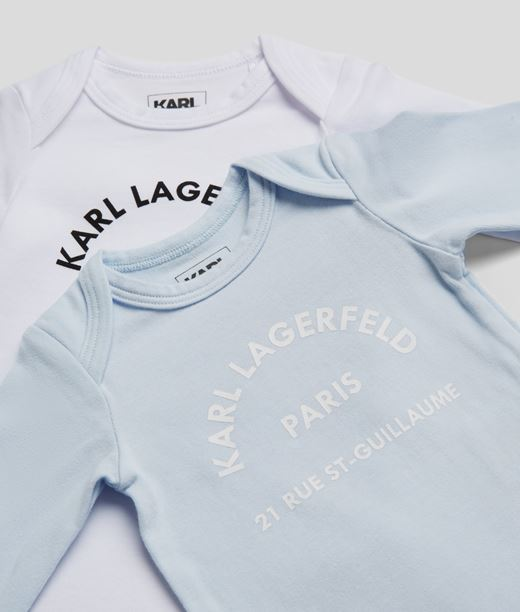 Parure à logo Rue St-Guillaume Karl Lagerfeld