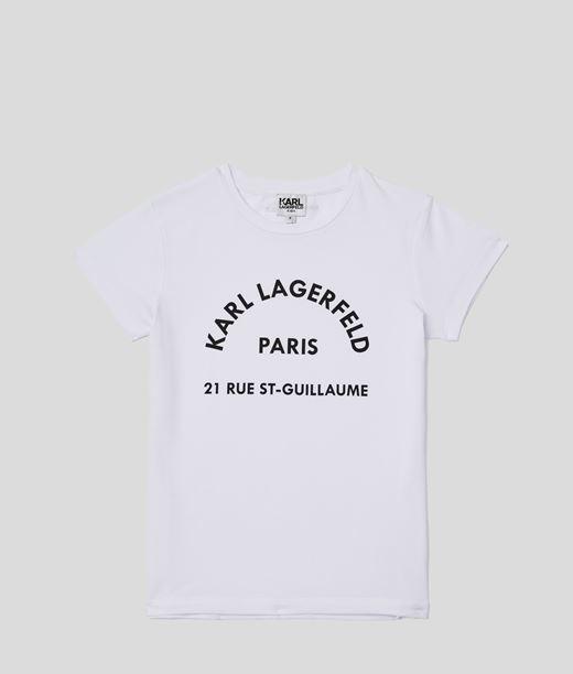 T-shirt Rue St-Guillaume Karl Lagerfeld