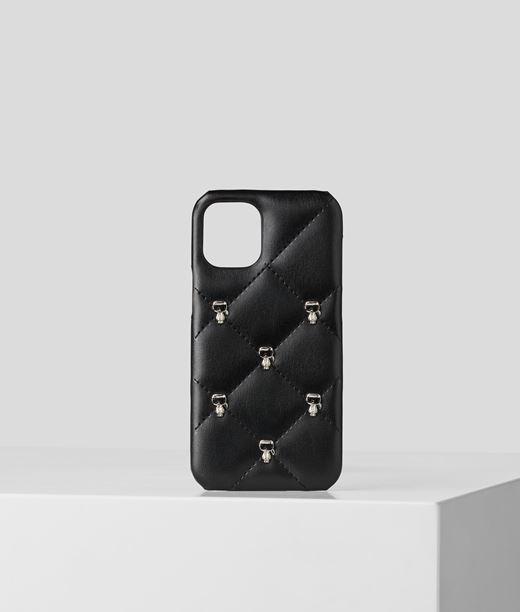 Coque pour iPhone 12 Mini à pin's Karl K/Ikonik Karl Lagerfeld