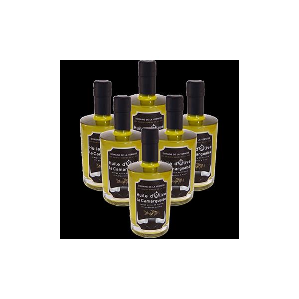 Huile d'olives Pack 6 bouteilles 500ml Cuvée Noire