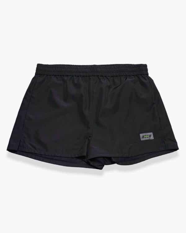 MSGM – Petit short en nylon noir XS