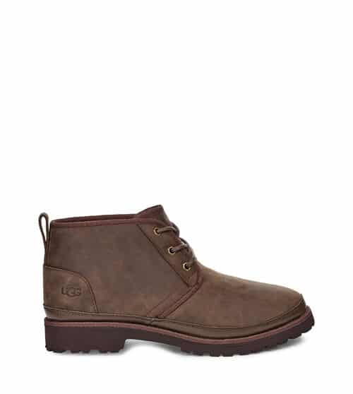 UGG Neuland Bottes pour Hommes en Grizzly, taille 48.5   Cuir