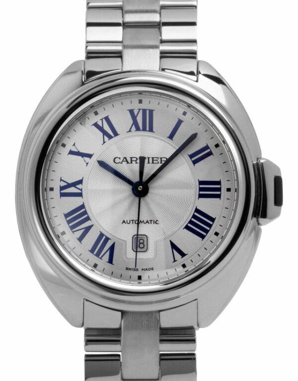 Montre Cartier Cle De Cartier WSCL0005, Romain, 2021, Unworn, Matériau du boîtier Acier, Matériel du bracelet: Acier