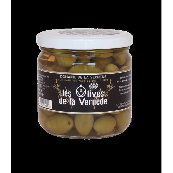 Huile d'olives Olives Picholines Nature 200g Olives