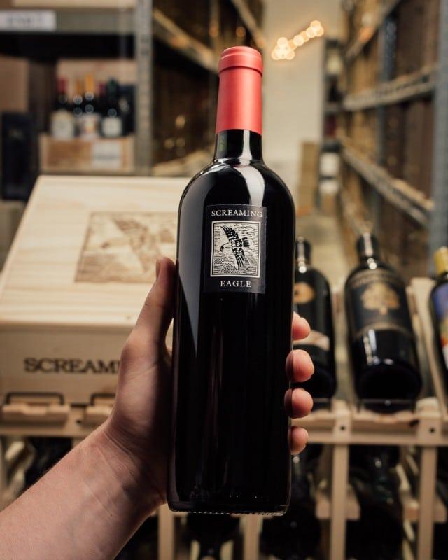 vin le plus cher du monde cabernet sauvignon screaming 1992