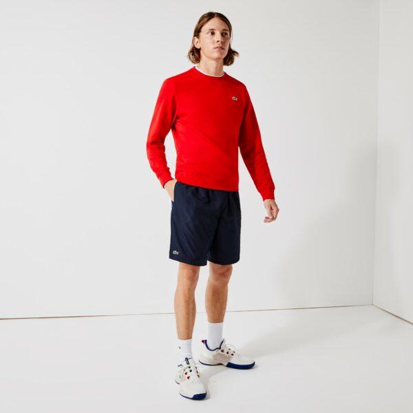 Short de tennis Lacoste Sport  diamante uni Taille 4XL Bleu Marine
