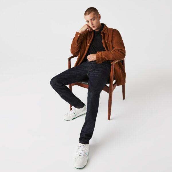 Lacoste Jean 5 poches slim fit en denim stretch Taille 40/34 Bleu